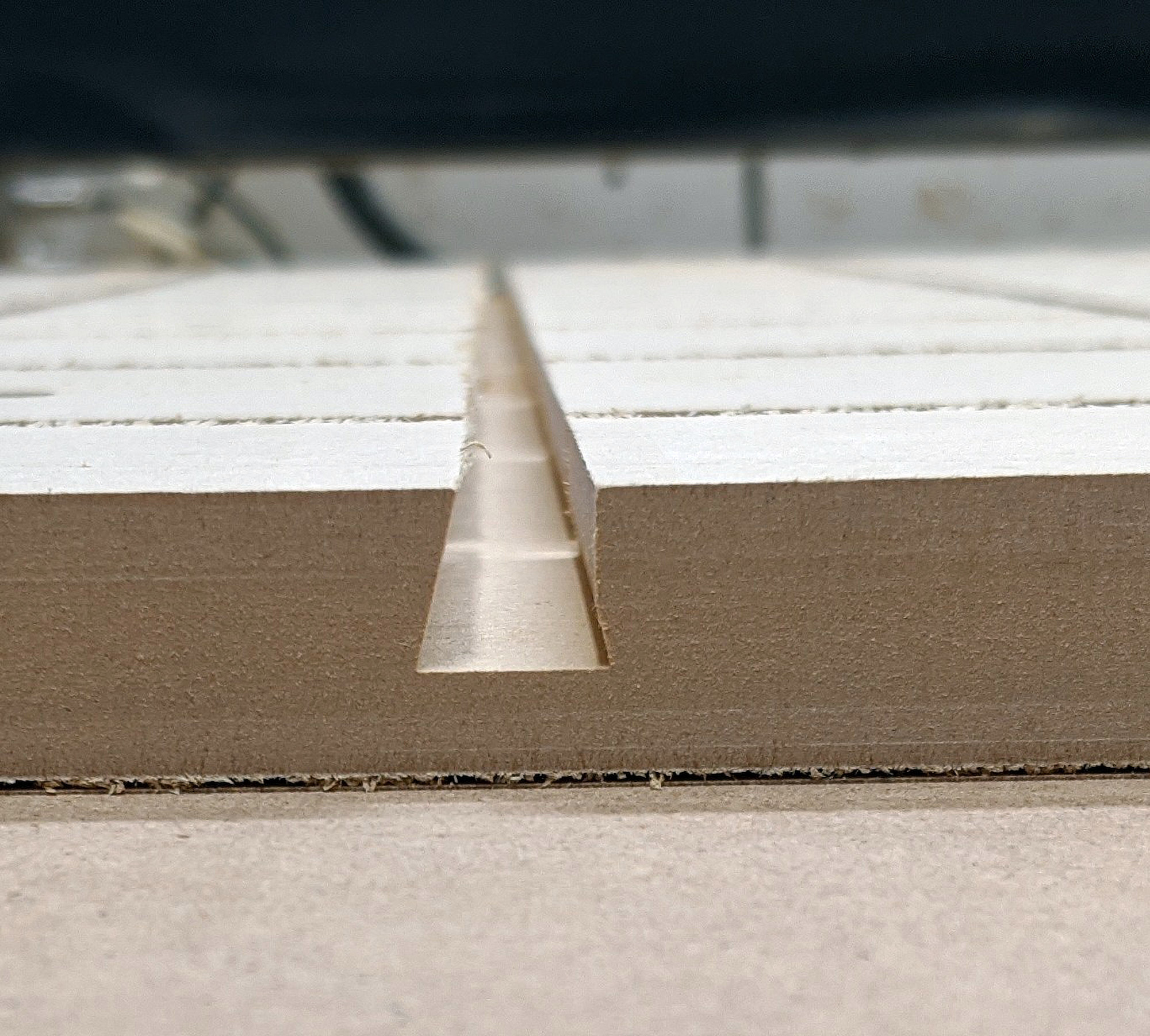 Off-position dovetail