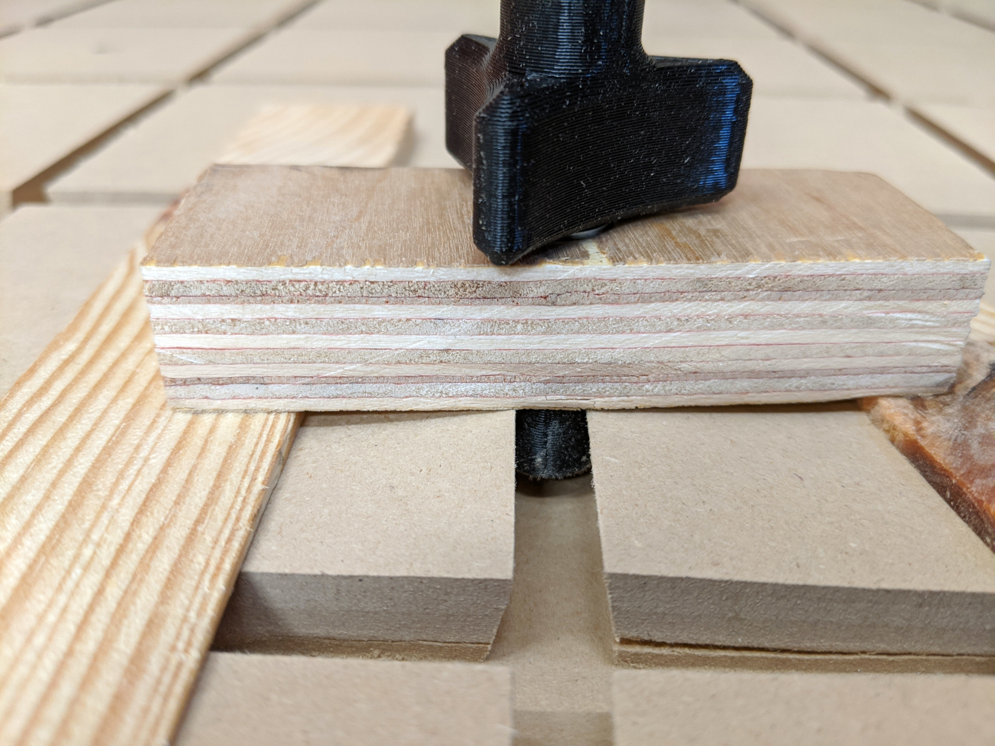 Dovetail tearout